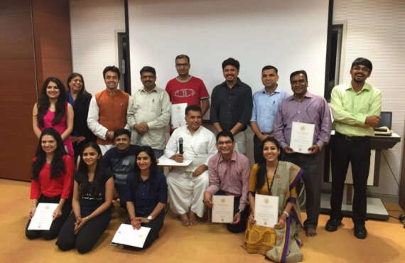 Corporate Transformational Yoga Program with CAIRN INDIA