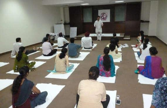 Workshop on Transformational Yoga System for Rejuvenating Doctors